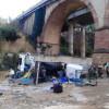 Un ferit molt greu al caure un camió des del pont de l'A2 a Esparreguera