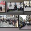 Els ciutadans del Baix Llobregat Nord expressen el seu condol amb minuts de silenci