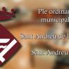 Ple ordinari del mes de desembre de Sant Andreu de la Barca
