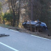 Accident de trànsit a la carretera de Corbera