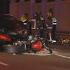 Mor un motorista en un xoc frontal amb un turisme a la N-340 a Sant Vicenç dels Horts