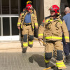 Un incendi en un pis del carrer Catalunya provoca un ferit lleu i l'evacuació de part de l'edifici