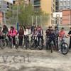 Taller de bicicletes als alumnes de primer d'ESO de l'institut el Palau