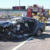 Un conductor ferit molt greu en un accident de trànsit l'A2 a Pallejà