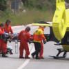 Un motorista ferit greu en un accident de trànsit a la Palma de Cervelló