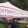 Les carpes del procés consultiu arriben a les places de Sant Andreu