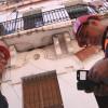 Despreniment d'un fals sostre al carrer Joan Bosch
