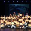Entrega de diplomes cursos educació vial als alumnes de primària