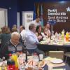 El PDeCat de Sant Andreu de la Barca va organitzar un sopar solidari a la seva seu