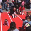 L'ACSSAB ha organitzat la primera cursa de nadons de Sant Andreu